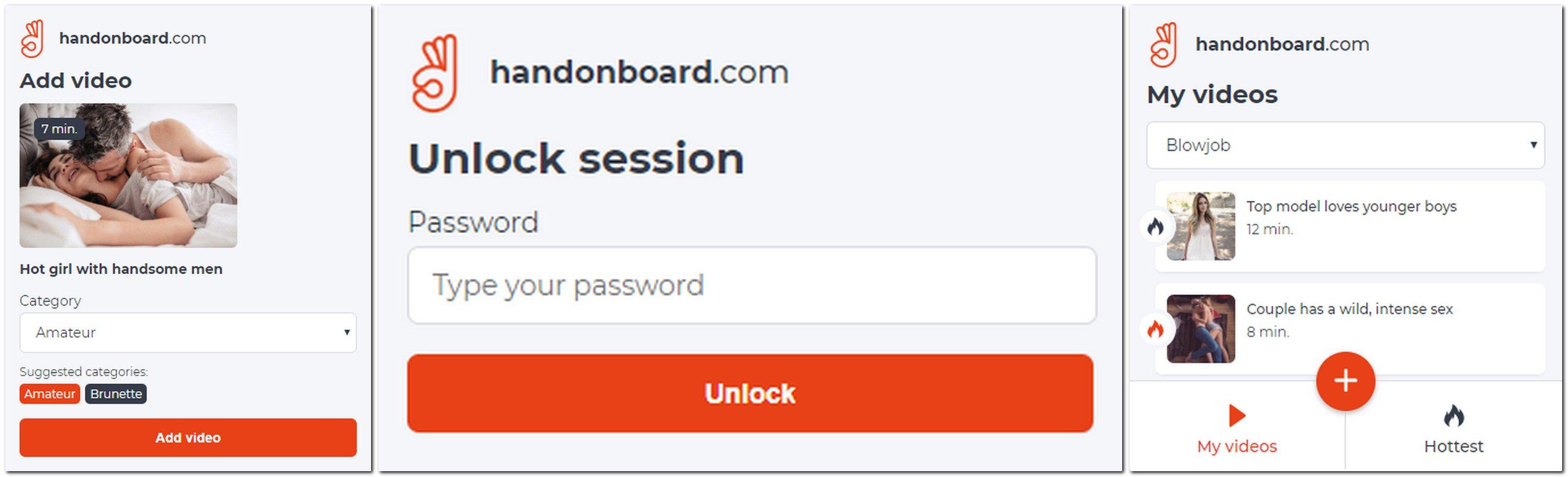 Handonboard.com - zapisywanie porno w przeglądarce