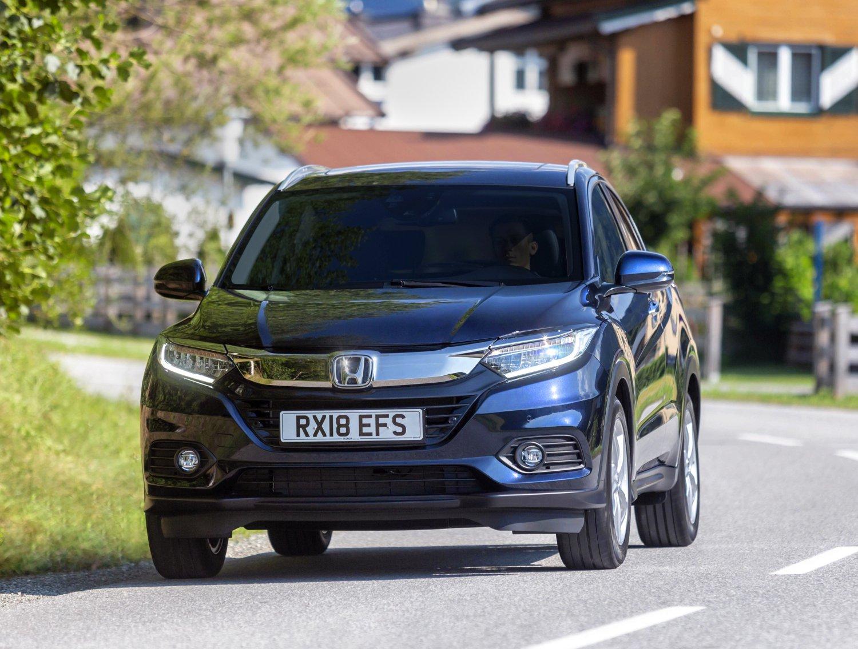 Honda HR-V przeszła facelifting
