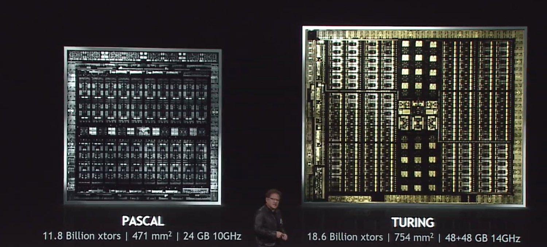 NVIDIA Pascal vs Turing architektura GPU