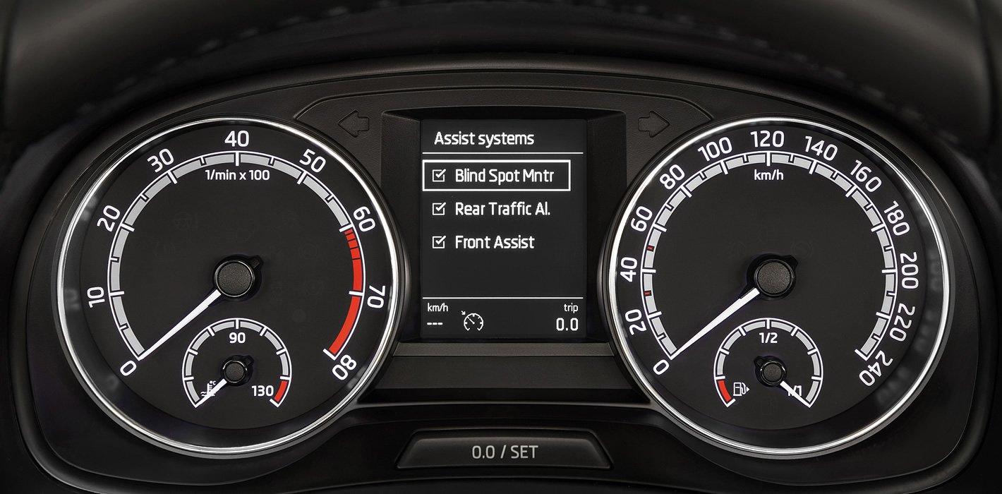 Nowa Skoda Fabia - dostępne systemy bezpieczeństwa