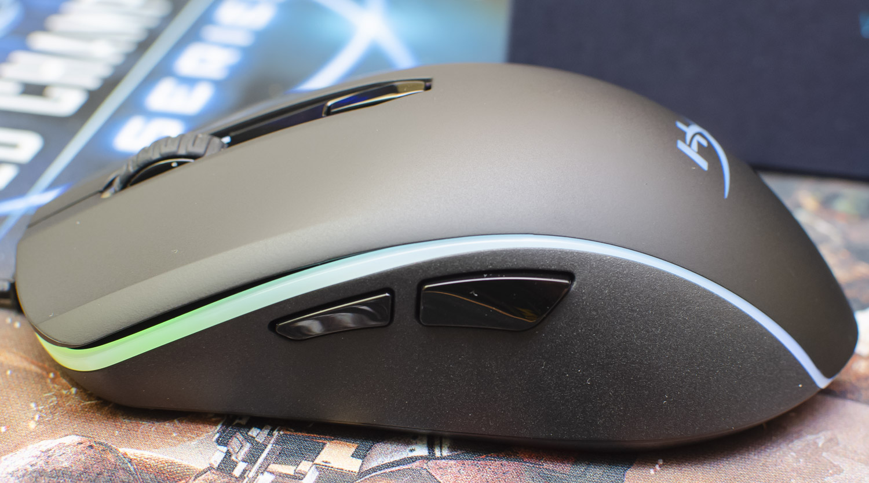 HyperX Pulsefire Surge RGB przyciski