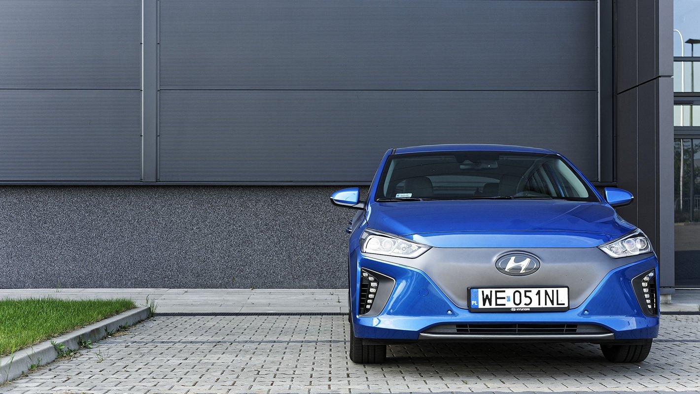Hyundai IONIQ Electric - w pełni elektryczne auto