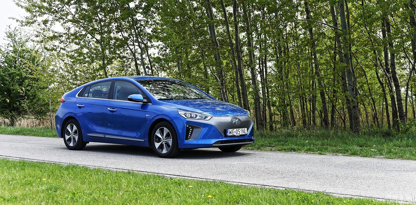 Hyundai IONIQ Electric - systemy bezpieczeństwa