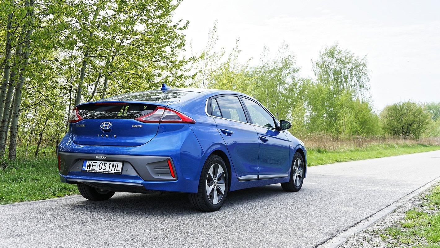 Hyundai IONIQ Electric świetny napęd elektryczny