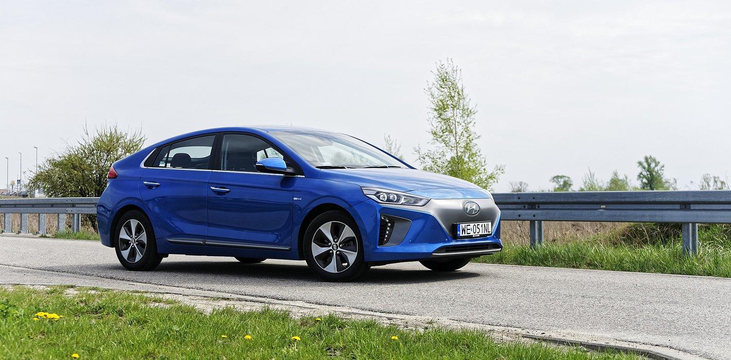 Hyundai IONIQ Electric - wrażenia z jazdy
