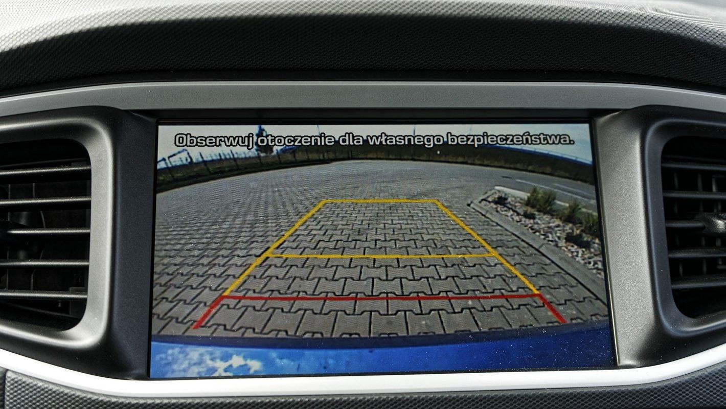Hyundai IONIQ Electric - kamera cofania