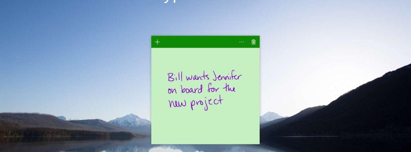 Sticky Notes na Windows oraz iOS-a i Androida