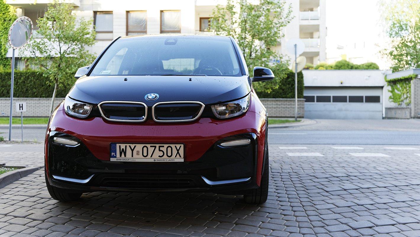BMW i3s 94 Ah - z przodu
