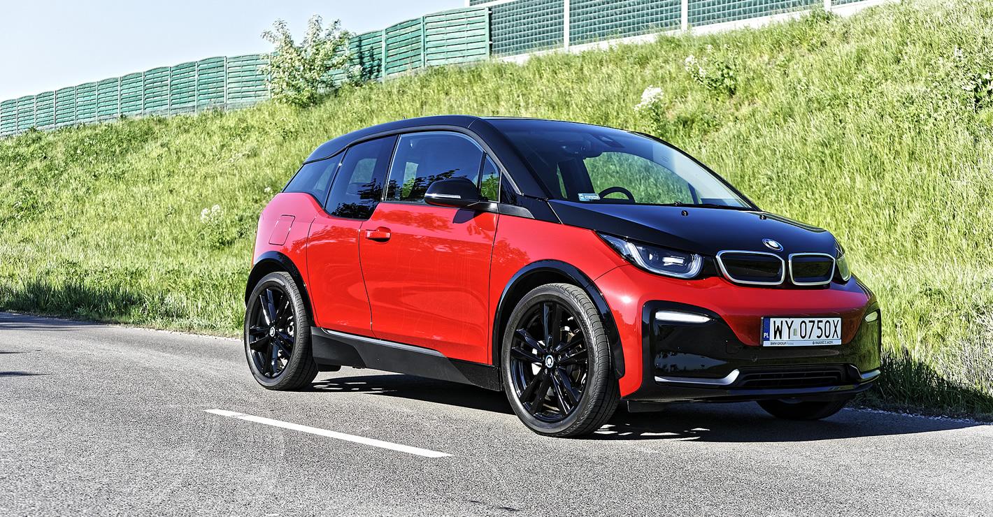 BMW i3s ma akumulatory o pojemności 94 Ah