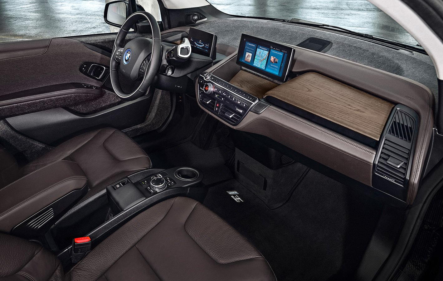 BMW i3s 94 Ah - wnętrze