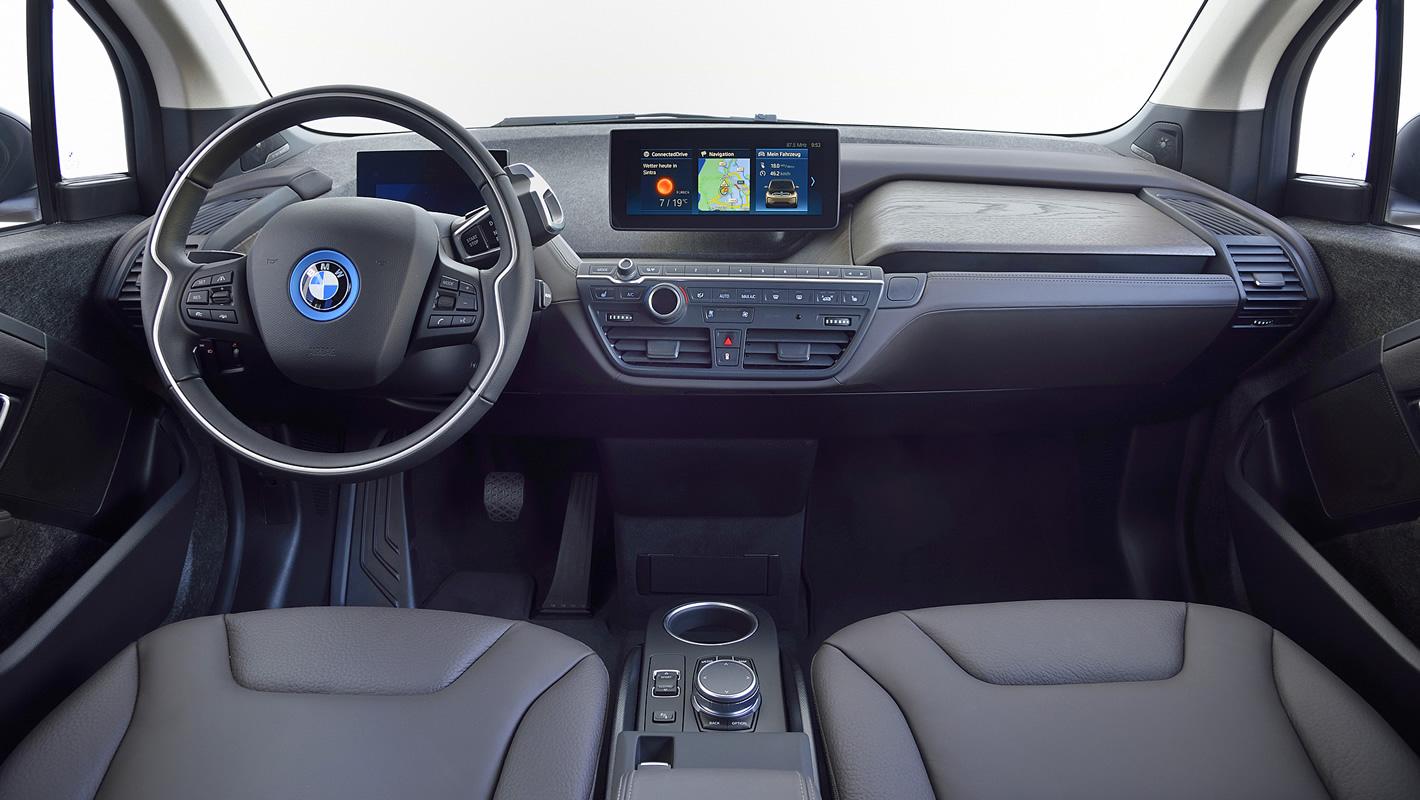 BMW i3s 94 Ah - w środku