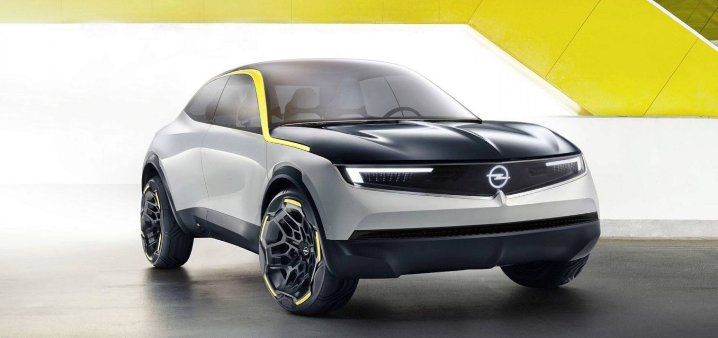 Oto Opel GT X Experimetnal Concept