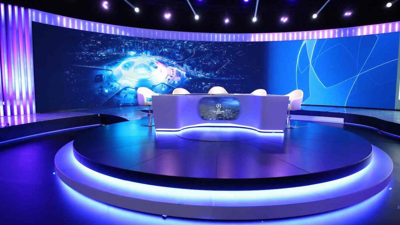 studio polsatu dla Ligi Mistrzów