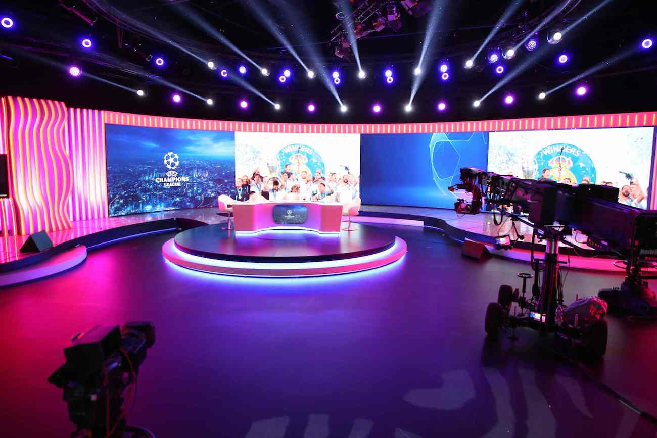 polsat studio Ligi Mistrzów