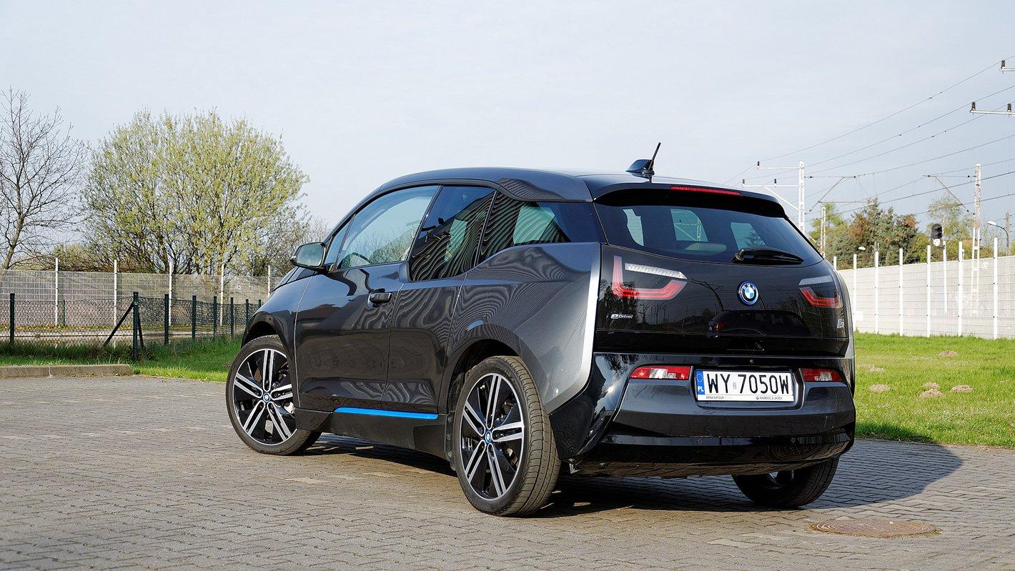 BMW i3 z tyłu