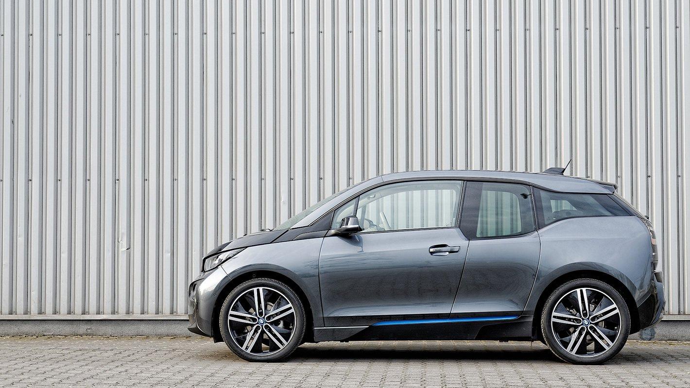 BMW i3 - nietypowa linia nadwozia