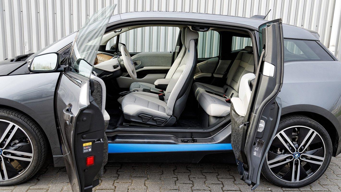 BMW i3 94 Ah - w środku