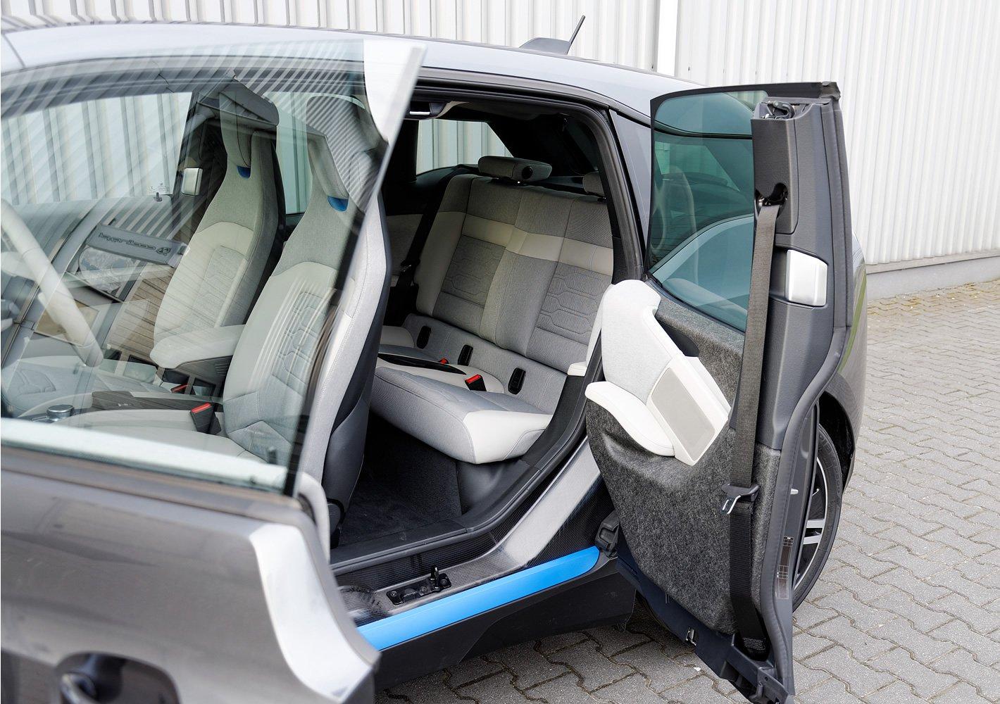 BMW i3 - ilość miejsca z tyłu