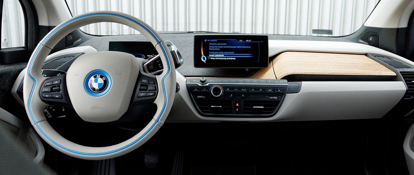 BMW i3 - kokpit centralny
