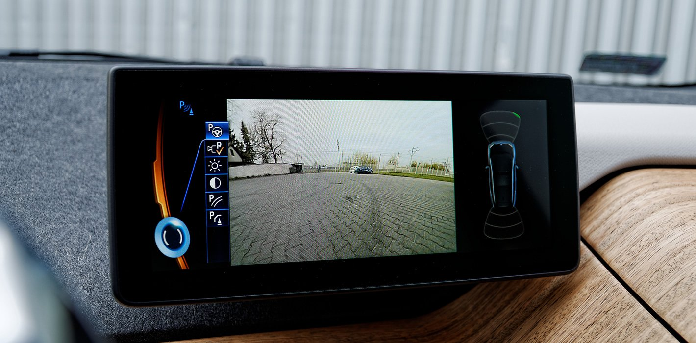 BMW i3 - kamera cofania