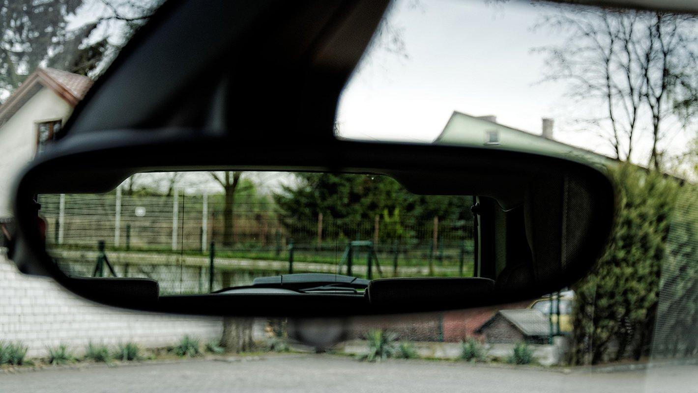 BMW i3 - widoczność do tyłu