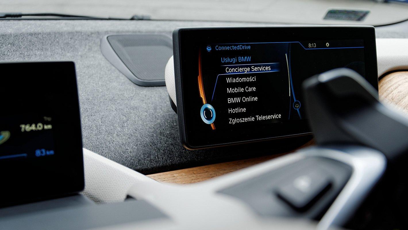 BMW i3 - usługi ConnectedDrive