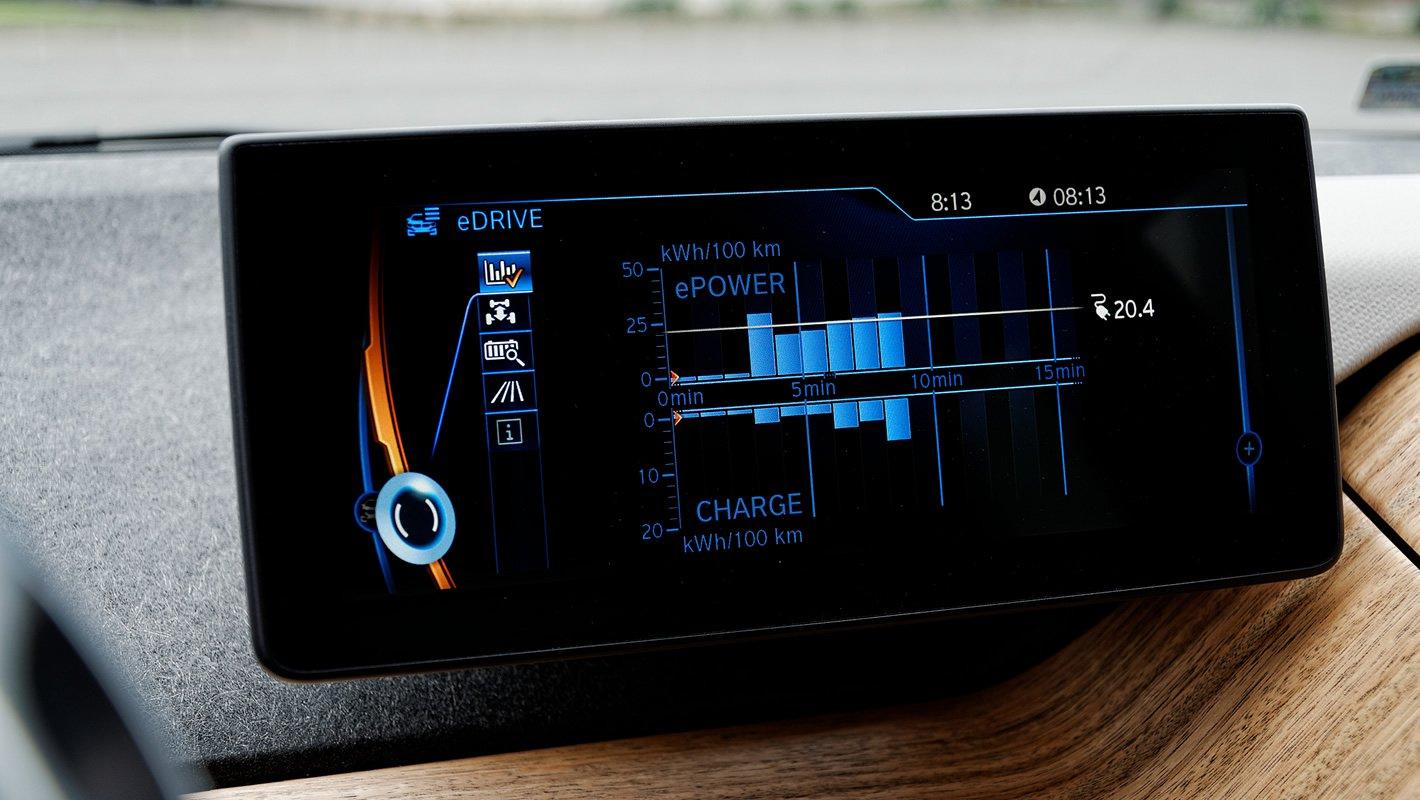 BMW i3 94 Ah - zaawansowane statystyki