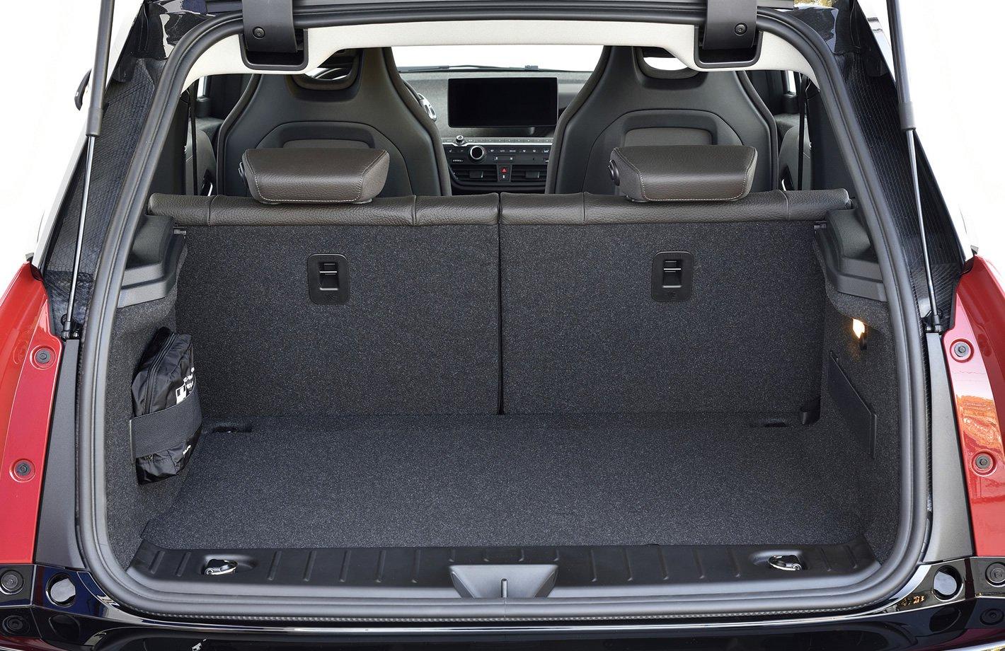 BMW i3 - bagażnik