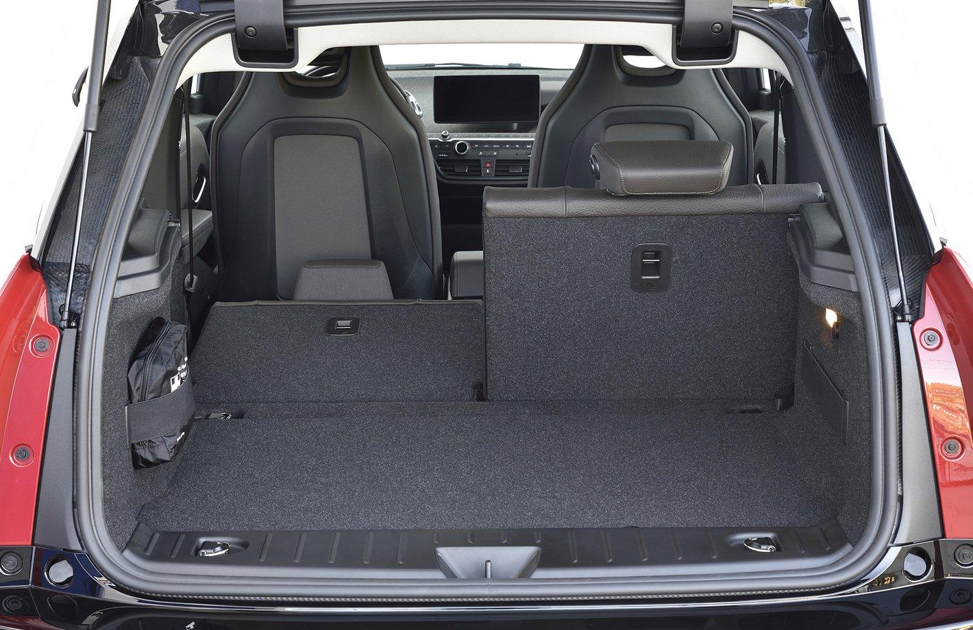 BMW i3 94 Ah - bagażnik