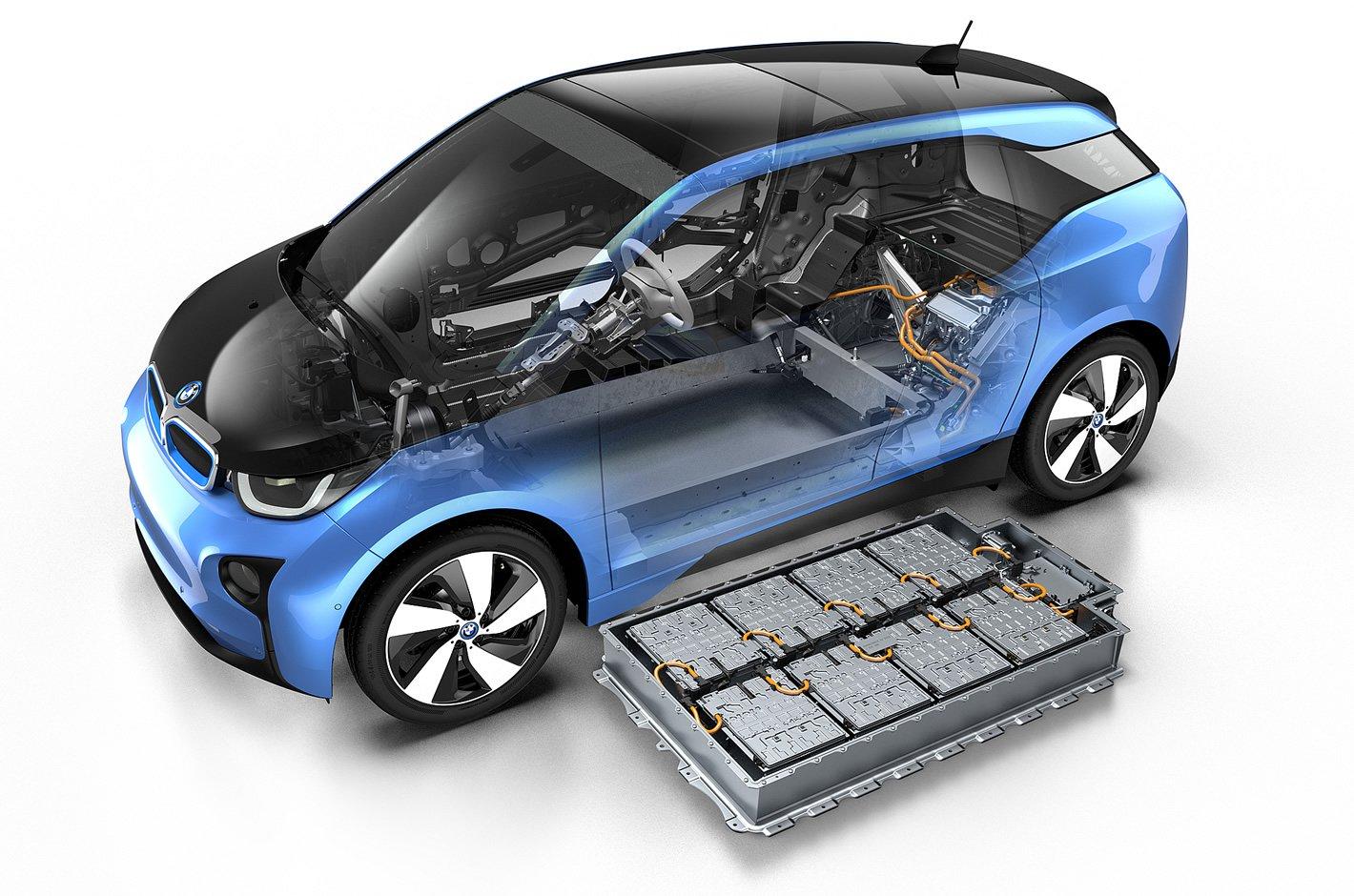 BMW i3 94 Ah - zestaw akumulatorów