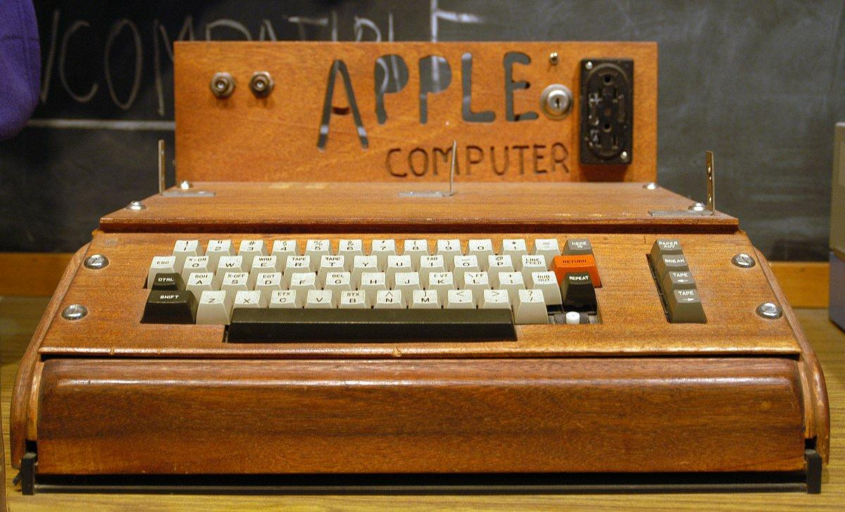 Apple 1 komputer cena