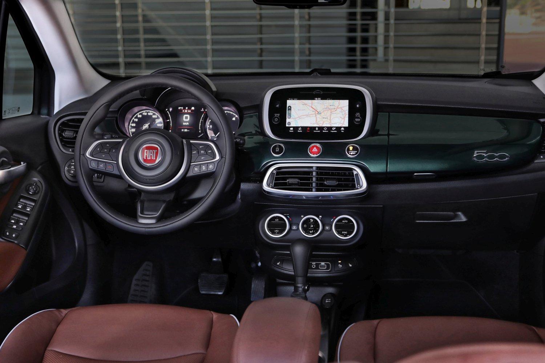 Fiat 500x - wnętrzne