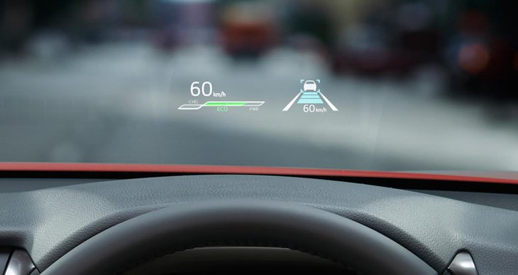 Toyota Camry Hybrid - HUD