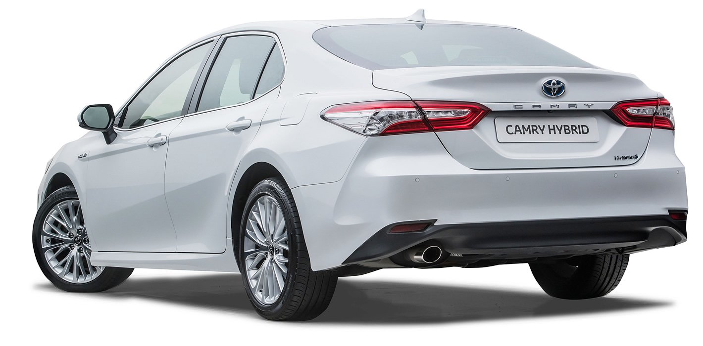 Toyota Camry Hybrid z tyłu