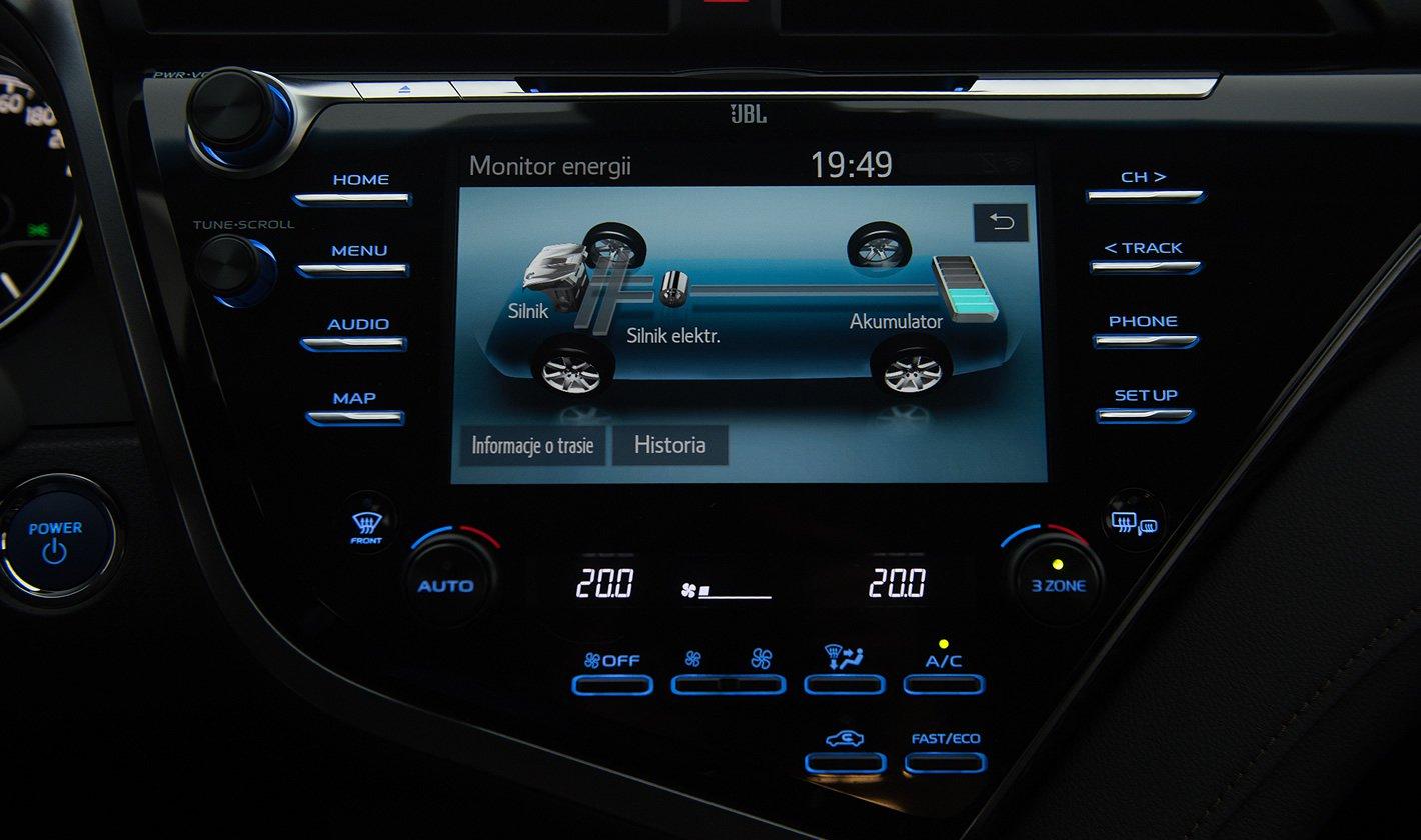 Toyota Camry Hybrid - działanie napędu hybrydowego