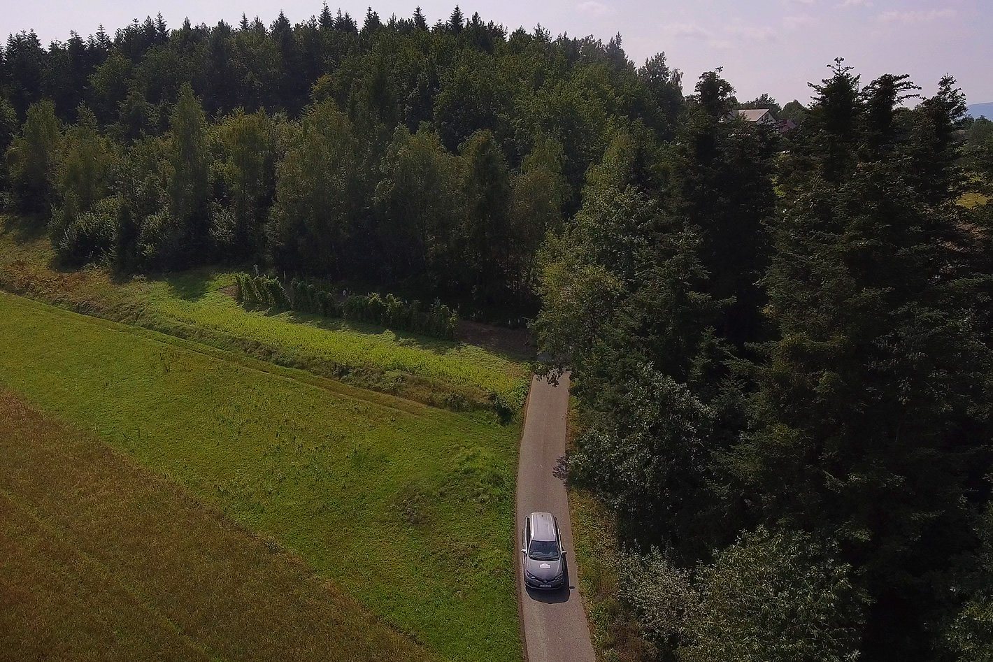 Toyota Eco Rally - górzyste tereny
