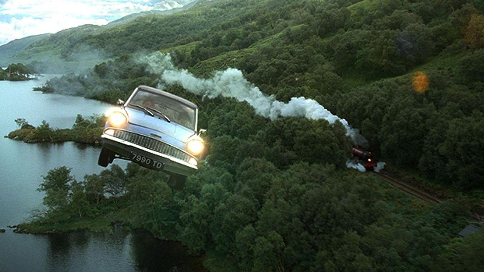 latający samochód harry potter
