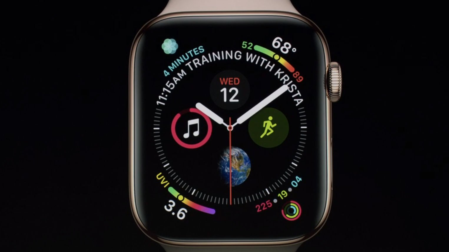 Apple Watch 4 wygląd