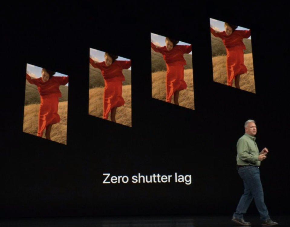 Działanie aparatu w iPhone Xs