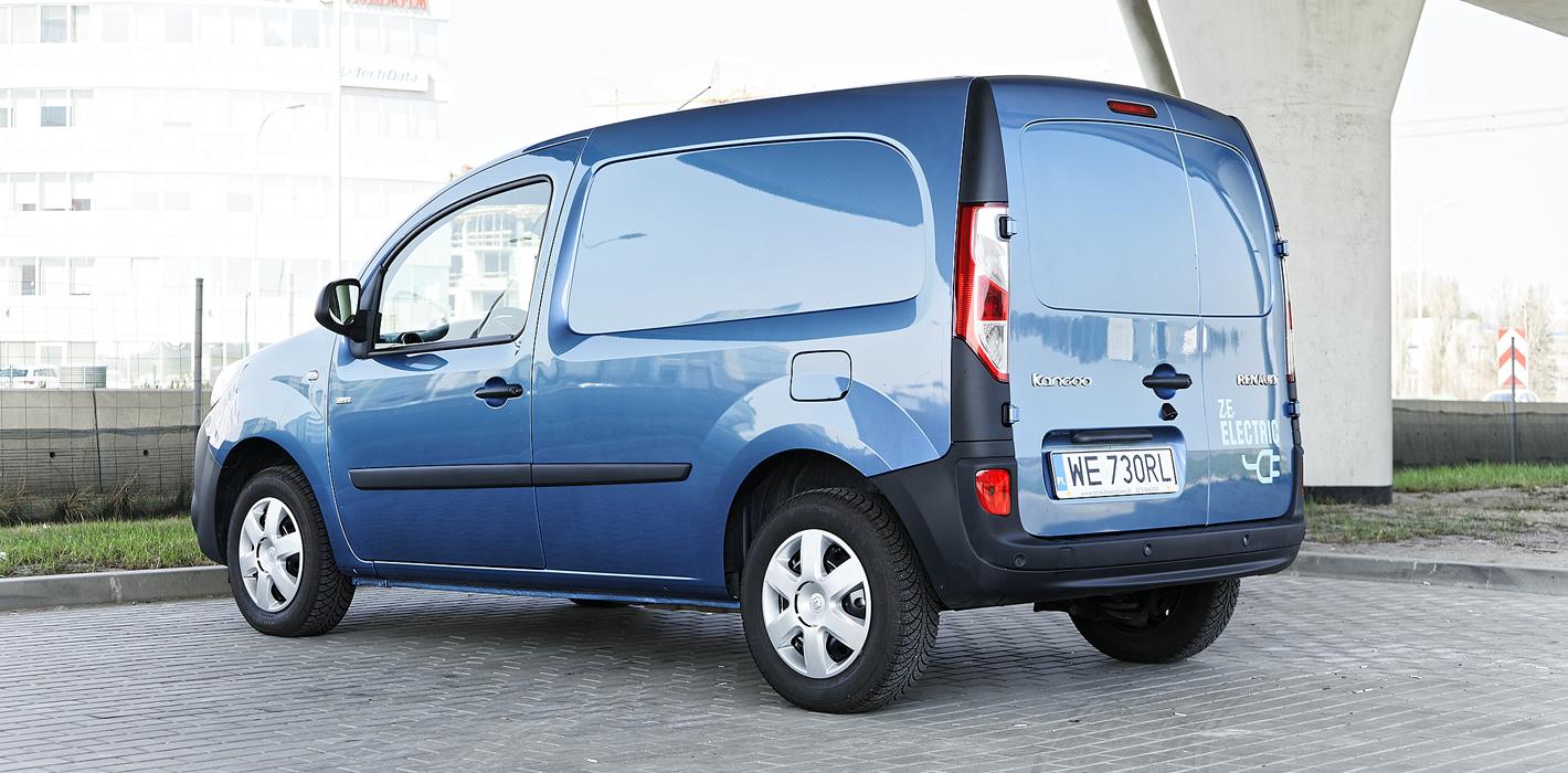 Renault Kangoo Z.E. - z tyłu