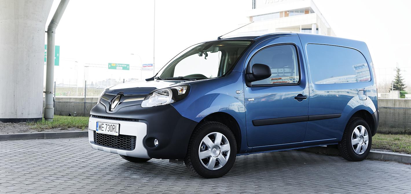 Renault Kangoo Z.E. - zasięg