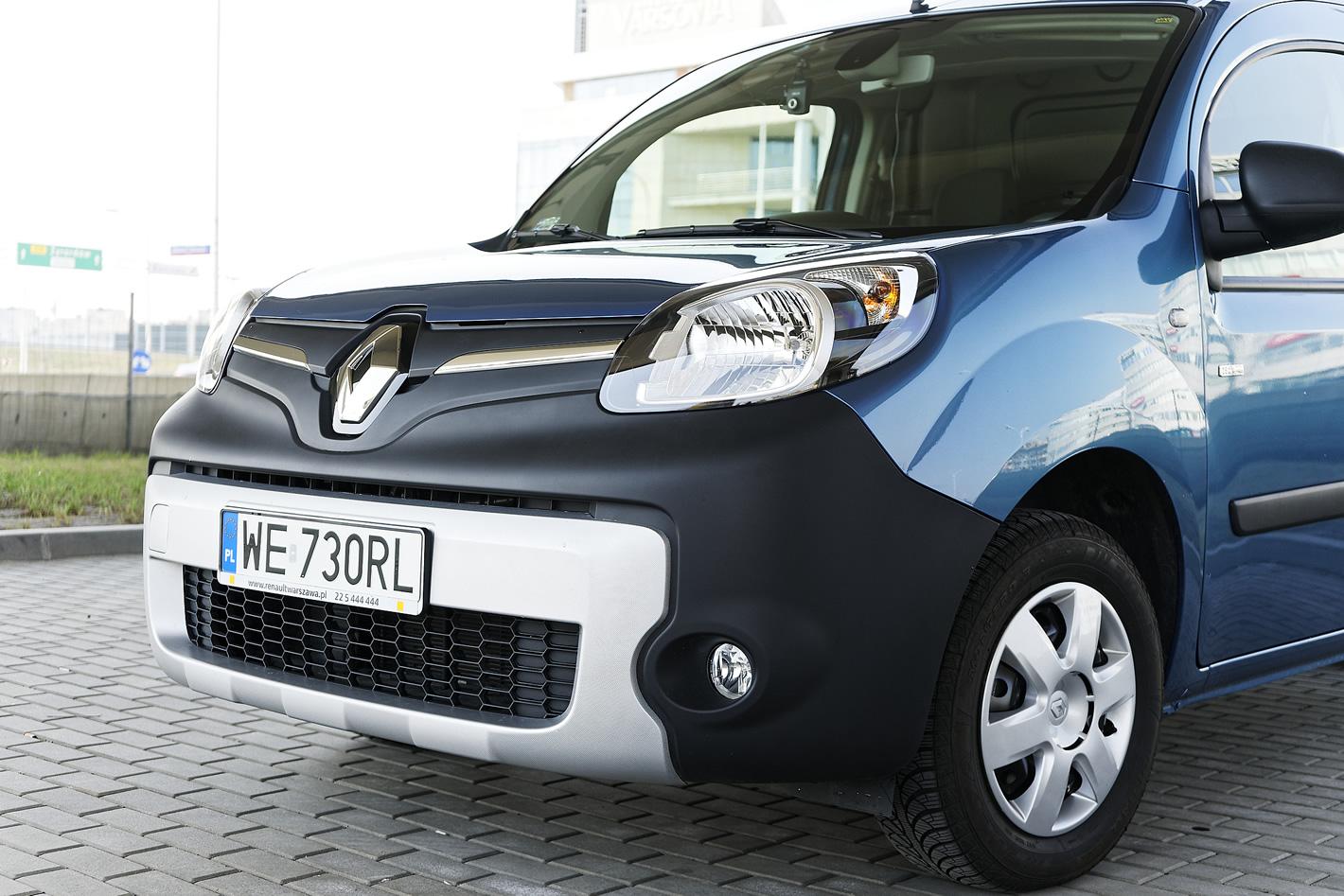 Renault Kangoo Z.E. - brak radaru