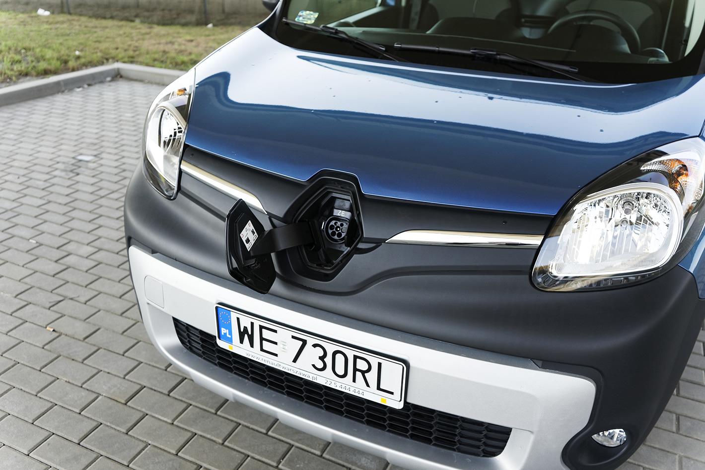 Renault Kangoo Z.E. - ładowanie