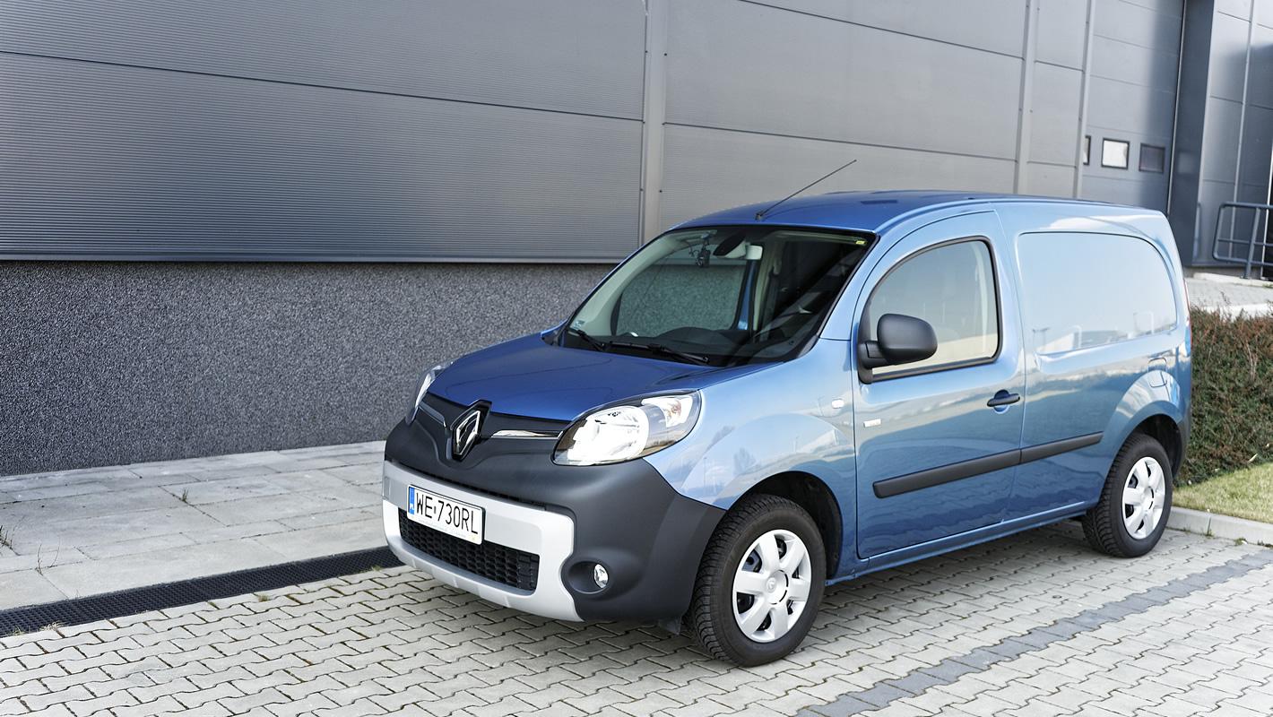 Renault Kangoo Z.E. - nowoczesny napęd