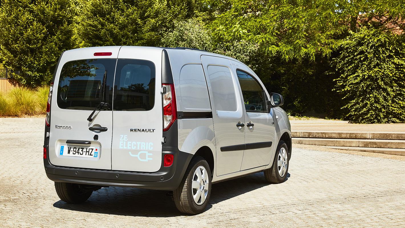 Renault Kangoo Z.E. - brak aktywnych systemów bezpieczeństwa
