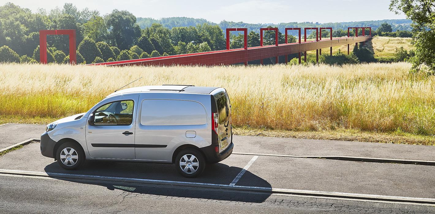 Renault Kangoo Z.E. - jazda próbna