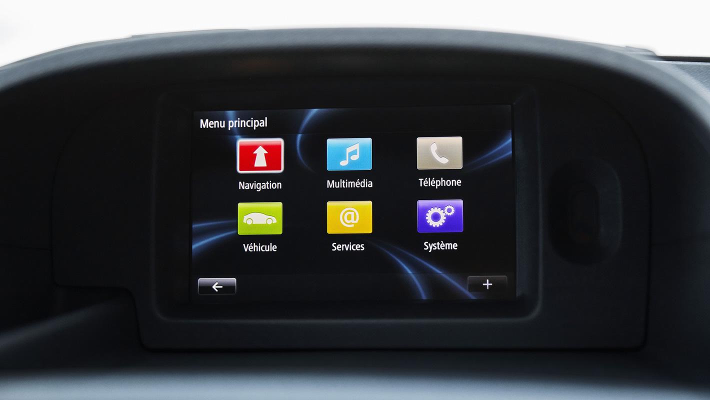 Renault Kangoo Z.E. - system multimedialny
