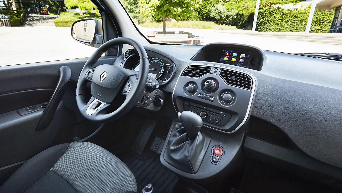 Renault Kangoo Z.E. - jakość wykonania wnętrza