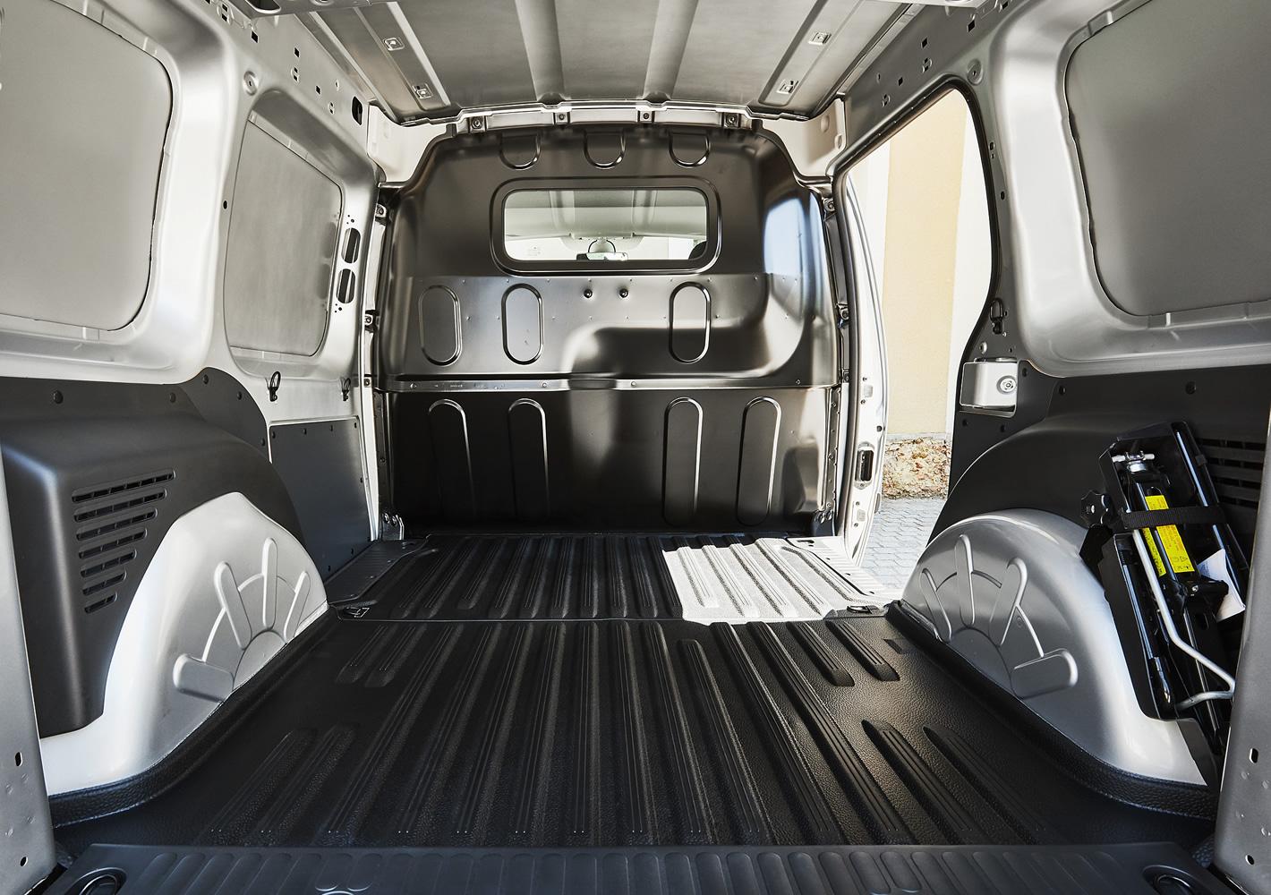 Renault Kangoo Z.E. - przestrzeń ładunkowa
