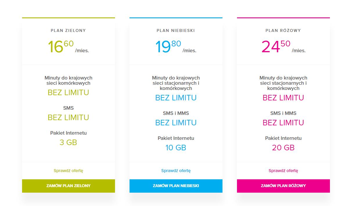 NAU Mobile oferta